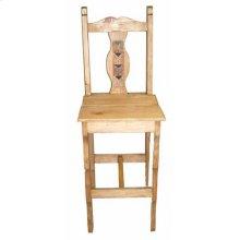 """26"""" Marble Milan Wood Seat"""