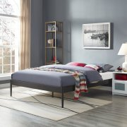 Elsie Queen Bed Frame in Brown Product Image