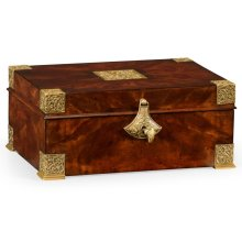 Lockable Mahogany Deeds Style Box