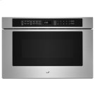 "Stainless Steel 24"" Under Counter Microwave Oven with Drawer Design Product Image"