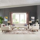 Engage Armchairs and Sofa Set of 3 in Beige Product Image