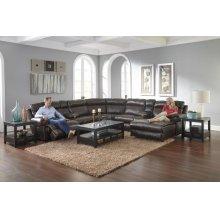 Power Headrest w/Lumbar Power LAF Reclining Sofa