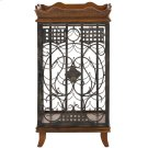 Robin Wine Rack With Removable Tray - Brown Product Image