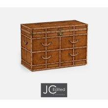 Travel Chest of Drawer Style Large Fitted Chest