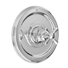 Randall Pressure Balanced Shower Valve Trim with Cross Handle - Polished Chrome