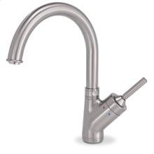 Gooseneck Style Kitchen Faucet(Stainless Steel)