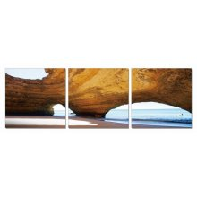 Modrest Dome 3-Panel Photo On Canvas