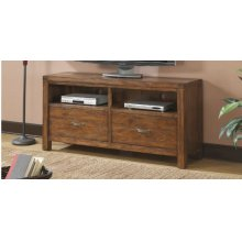 Emerald Home Chambers Creek TV Console Brown E4120