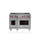 "48"" Dual Fuel Range - 4 Burners and Infrared Dual Griddle Product Image"
