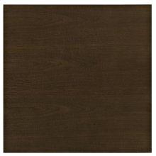 "Lippa 24"" Wood Dining Table in Walnut"
