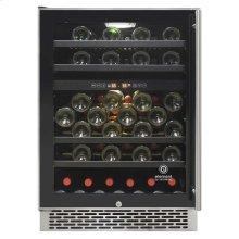 Butler Series 46-Bottle Dual-Zone Wine Cooler (Left hinge)