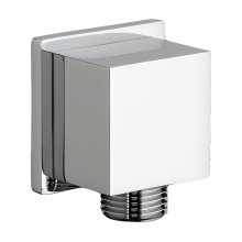 Square Wall Elbow for Hand Showers - Polished Chrome