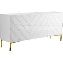 "Collette Sideboard  Buffet - 64"" W x 18"" D x 31"" H"