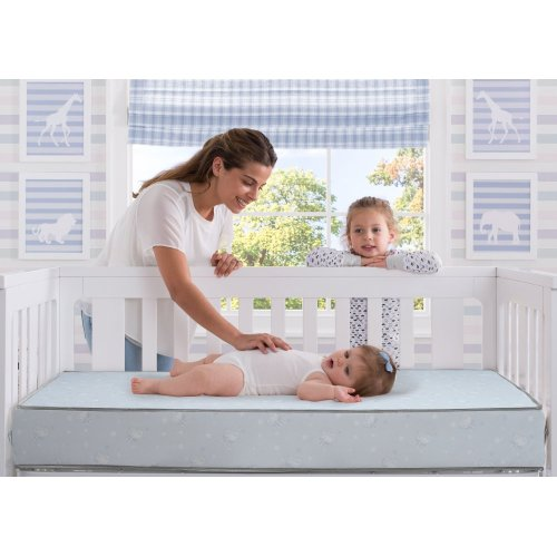 Serta SleepTrue Sweet Moon Crib and Toddler Mattress - SleepTrue Sweet Moon Crib and Toddler Mattress No Color (NO)
