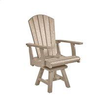 C15 Addy Swivel Dining Arm Chair