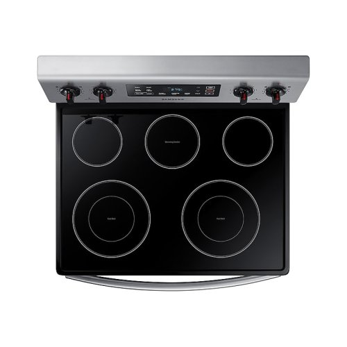 5.9 cu. ft. Freestanding Electric Range in Stainless Steel