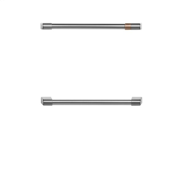 Café Undercounter Refrigerator Handle Kit - Brushed Stainless