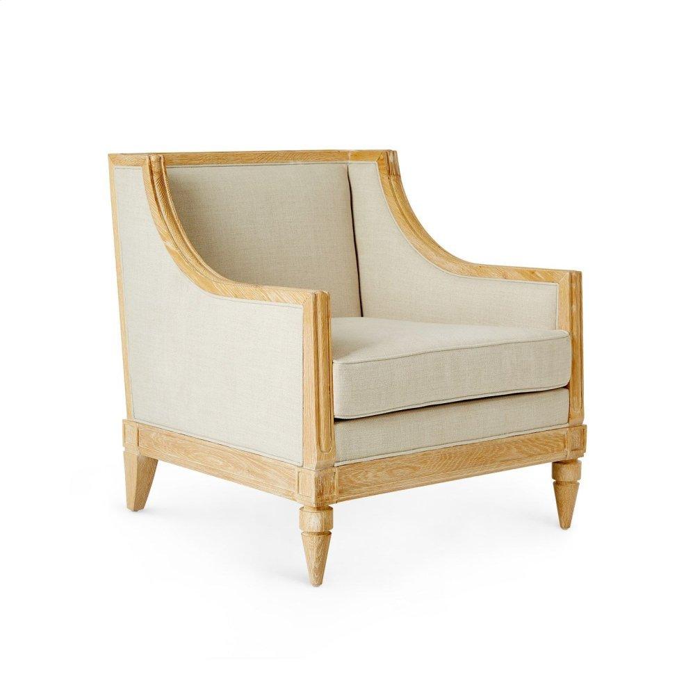 Devon Club Chair, Natural
