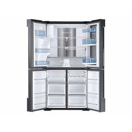 28 cu. ft. Food Showcase 4-Door Flex Refrigerator with FlexZone in Black Stainless Steel