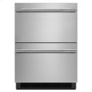 "RISE 24"" Double-Refrigerator Drawers Product Image"