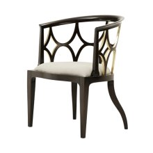 Ebonised Connaught Accent Chair, #plain#