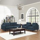 Empress Sofa and Armchairs Set of 3 in Azure Product Image