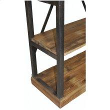 Industrial X-Back Iron Shelf