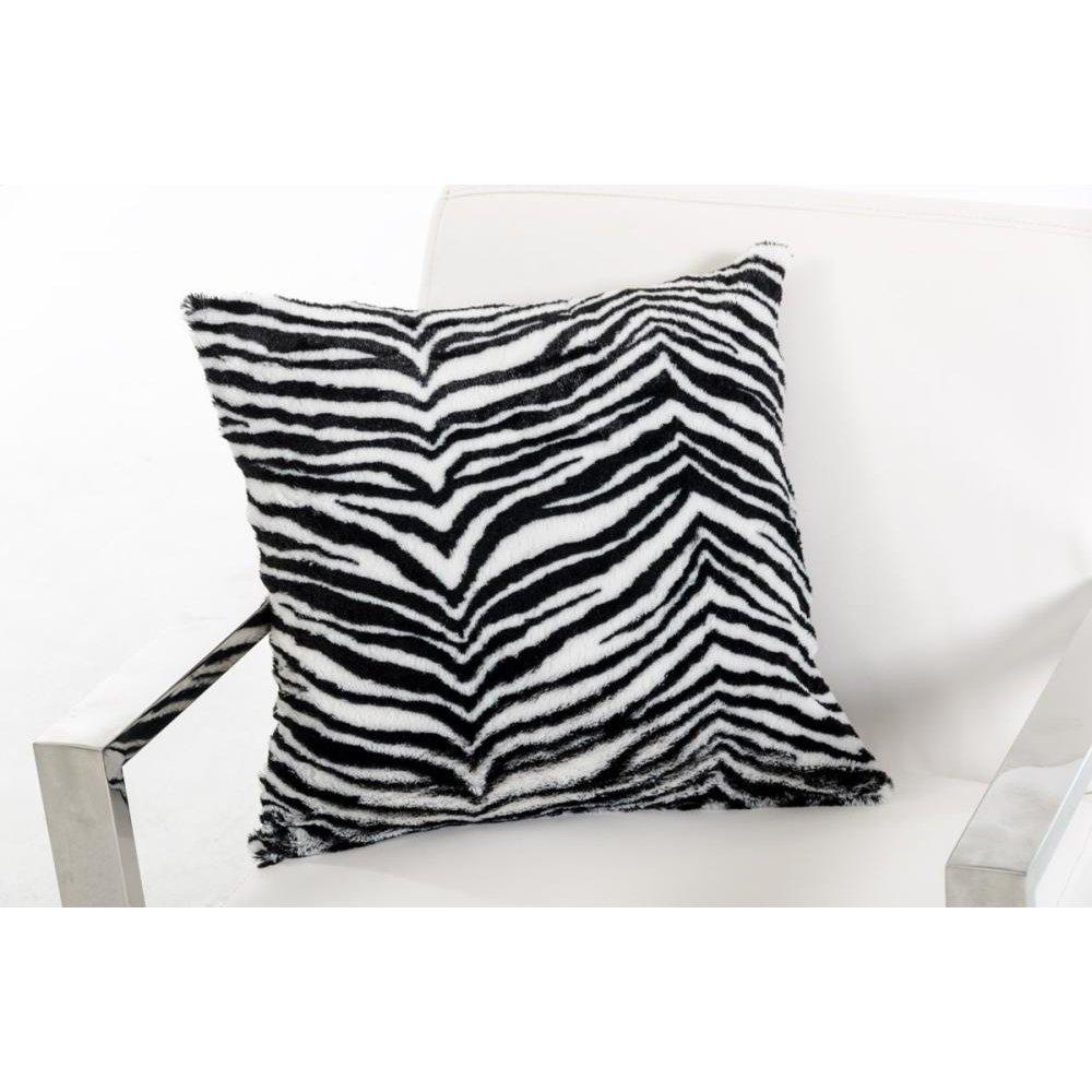 Modrest Zebra Black and White Throw Pillow
