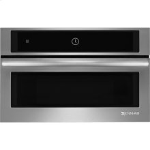 "Jenn-Air® 27"" Built-In Microwave Oven with Speed-Cook, Euro-Style Stainless Handle"