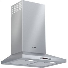 300 Series wall-mounted cooker hood Stainless steel HCP34E52UC