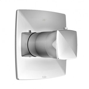 "3/4"" Thermostatic Shower Valve With Shower Trim Kit - Chrome Product Image"
