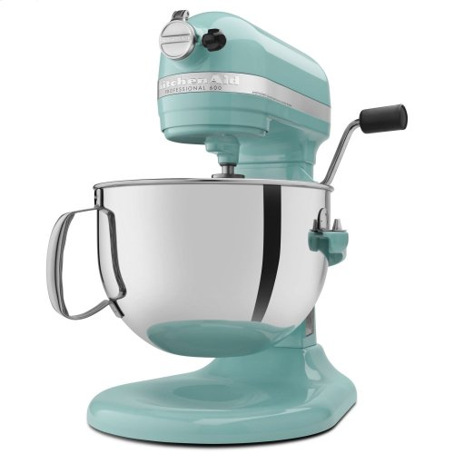 Pro 600™ Series 6 Quart Bowl-Lift Stand Mixer - Aqua Sky