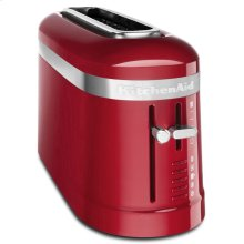 2 Slice Long Slot Toaster with High-Lift Lever - Empire Red