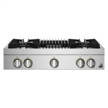 """RISE 36"""" Gas Professional-Style Rangetop with Grill"""