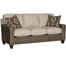 Cory Leather/Fabric Sofa