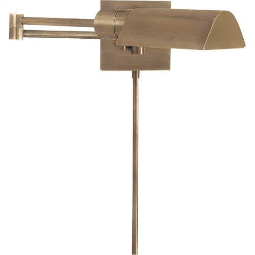 Visual Comfort 92025AN Studio 25 inch 60 watt Antique Nickel Swing-Arm Wall Light