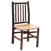 Spoke Side Chair - Natural Hickory - Wood seat