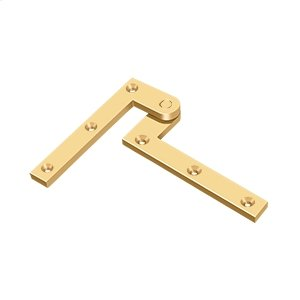 "4 3/8"" x 5/8"" x 1 7/8"" Hinge - PVD Polished Brass Product Image"