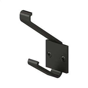 """Modern Hook, 2-1/4"""" Projection - Oil-rubbed Bronze Product Image"""