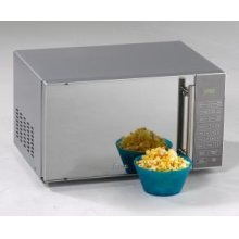 0.8 CF Microwave Oven with Mirror Finish Door