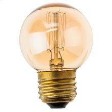 T45 12 Anchors 40w E Light Bulb  Gold