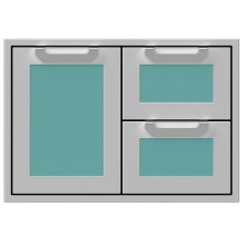 "30"" Hestan Outdoor Combo Door/Drawer - AGSDR Series - Bora-bora"