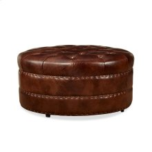 Hudson Cocktail Ottoman - Milan Chocolate Sale! (Ottoman Only)