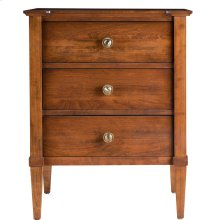 Monaco Three Drawer Nightstand