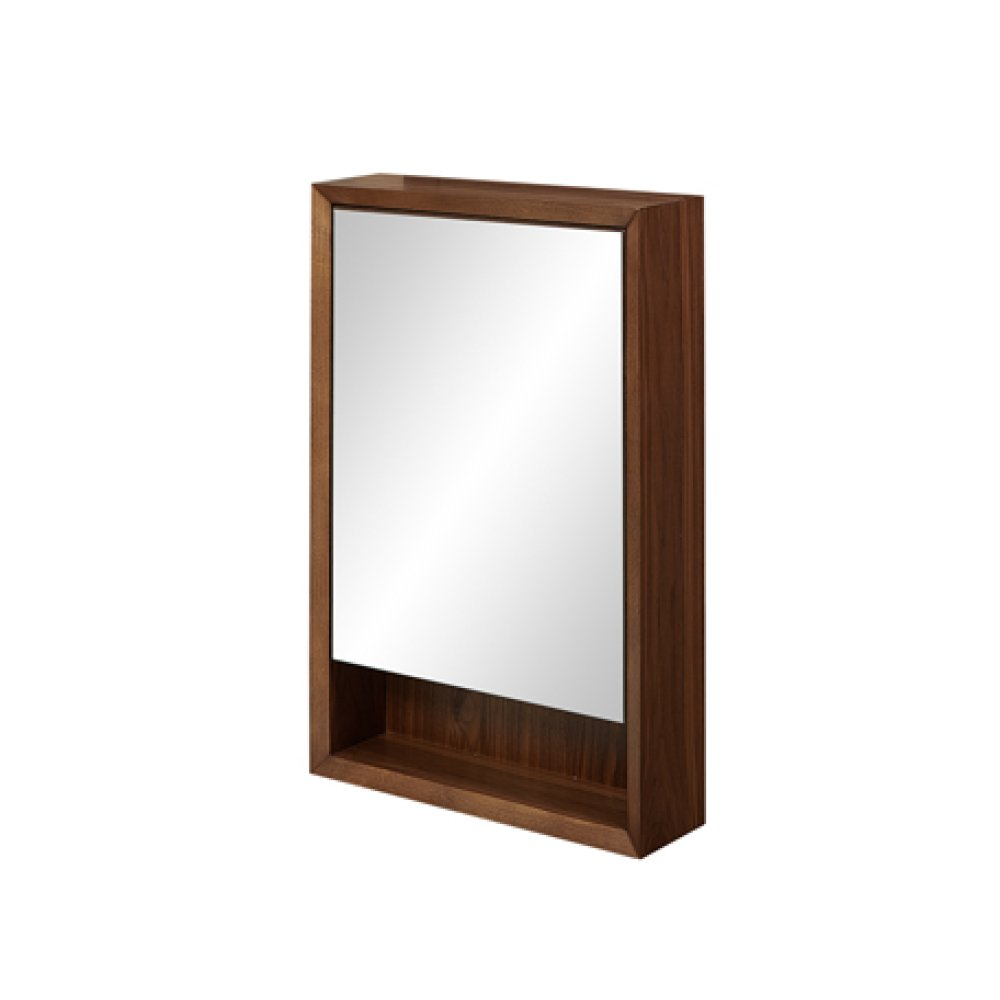 "m4 20"" Medicine Cabinet - left - Natural Walnut"