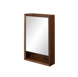 """m4 20"""" Medicine Cabinet - left - Natural Walnut Product Image"""