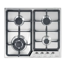 """Stainless Steel 24"""" Deluxe Gas Cook Top"""