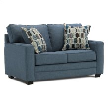 Loveseat With 2 Pillows