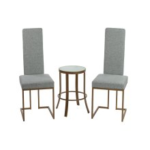 Brentwood Chair and Luna Table