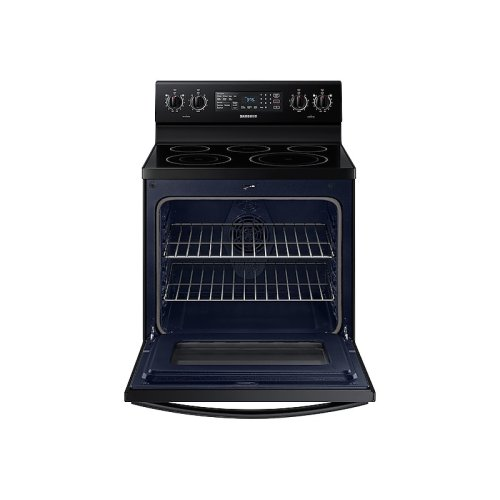 5.9 cu. ft. Freestanding Electric Range with Convection in Black